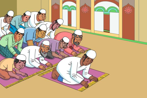 Six benefits of the congregational prayer (Salat al-jama'ah) in Islam