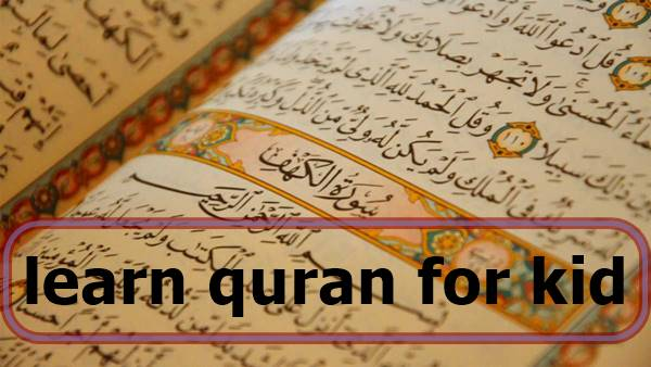 learn quran for kid