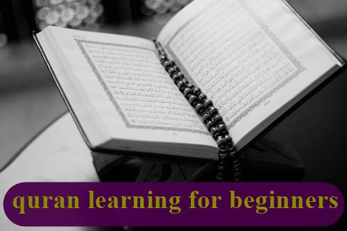quran learning for beginners